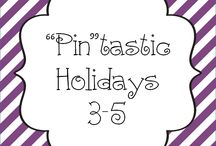 """Pin""tastic Holidays 3-5  / Pin your Holiday 3-5 pins here!"