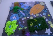 Ideas for sensory boards, mats