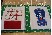 Quiet Book pages / by Victoria Leigh