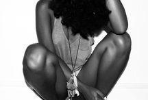Beauti/Natural Hair / Beauti is from with in, but don't mistake the things that you can do to help it along...