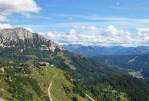 Wandern in Filzmoos - Wanderurlaub in Österreich / Wandern zur Almrosenblüte, über den Gletscher, zum Sonnenaufgang... Es tut gut. Es macht Spaß. Alle Sinne sind wach. Die Filzmooser Wanderrouten sind leicht bis anspruchsvoll – für jeden Naturliebhaber etwas. Klettern – das reizt Kinder und Jugendliche besonders. Kletterfelsen, Klettergarten, Klettersteig – für Anfänger bis Könner.
