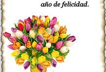 Flores tarjetas