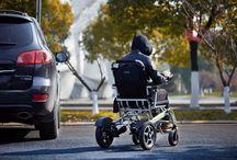 Carrozzine per disabili e anziani