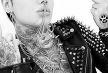 punk rock girl F U