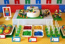 Boys Lego themed Birthday party