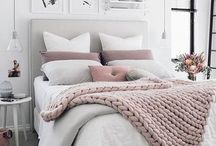 decoración cama