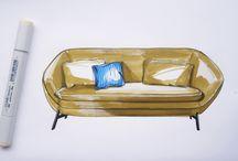 furniture drawing