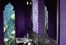 Фиолетовые Ванные Комнаты