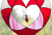 Glassy Ideas: Hearts / by Peggy Baden