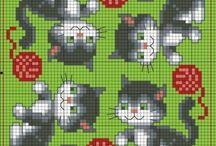 схемы для вязания и вышивки