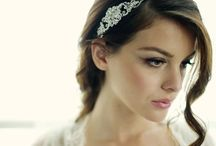 Wedding and bridal hair accessory collection / The Sass B Collection and Poirier wedding accessories, These bridal hair accessories are designed with a hint of vintage, adding a modern edge perfect  for any bride available at https://www.tiarasandteirs.co.uk