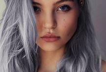 Hair / baues, graues....Haar