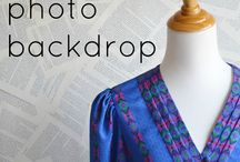 photography tips, tuts & diy / how to take better pictures, backdrops, etc.