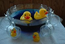 x 1st Birthday Party - Rubber Ducks