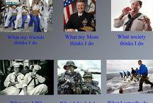 Military Humor / by Vietnam Veterans Memorial Fund - VVMF