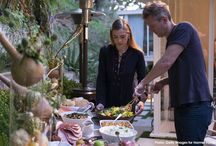 "A Feastgiving with Jaime King / We partnered with actress Jaime King and her family to host a ""Feastgiving"" party at their Beverly Hills home to kick off this season of gratitude."