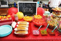 Kid's Party Food Stations