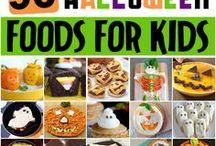 50 fun halloween foods...