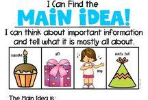 First Grade Main Idea
