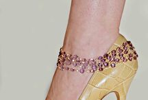 Dazzling diamond anklets - my first designs