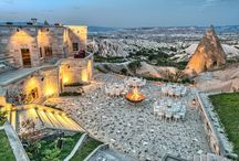 Maara Konak / The first completed element of a project being undertaken by Turkey's only Relais & Châteaux hotel, the award-winning Museum Hotel, Maara Konak offers unique differences in venue, food, and service quality in the Cappadocia region, Turkey.   / by Museum Hotel