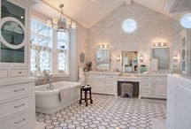 His and Hers Bathrooms / Newlyweds looking for home bathroom inspirations: this board is the one for you!