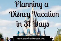 31 Days of Planning a Disney Vacation / How to plan your Disney vacation.