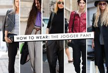 style fave: JOGGER PANTS