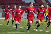 Clyde 10 May 16 / Pictures from the SPFL League One Final 1st leg between Clyde and Queen's Park. Match played at Broadwood on Tuesday 10th May 2016. Queen's Park won the game 3-1.