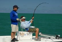 """Saltwater Experience Weekend / Television personalities and well-known anglers Captain Rich Tudor and Captain Tom Rowland, known for their popular Saltwater Experience series on NBC Sports, invite novice and seasoned anglers alike to get """"hooked"""" at Hawks Cay Resort in the Florida Keys for the second annual Saltwater Experience Weekend, September 5-7, 2014."""