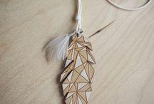 Naszyjnik Piórko/ Feather necklace:)