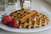 Gluten Free Waffles! / Belgian, toaster and homemade - gluten free waffles are great anytime.