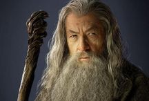 Research - Gandalf / Research images of Gandalf from #LOTR and #TH as inspiration for #cosplay #wigs and #beards
