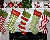 Christmas stocking inspiration  / by Dani Bacon