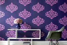 Home Decor in Pantone's Radiant Orchid / Decorate your home in Pantone's color of the year, Radiant Orchid