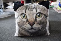 Printed Animal Pillow