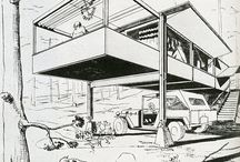 Architecture - Illustration B&W