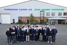 Meet our team / Some of our hard working team here at Cunninghams