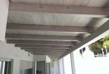 Υλικά σε εφαρμογή / Constructions with Eurowood's appropriate products. Κατασκευές με υλικά Eurowood.
