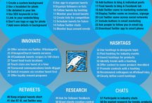 Twitter / Stats, Strategies + Tips / by Jenneil Peters