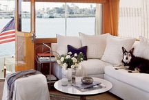 a boat can be a home / Bit by bit, a plan to upgrade a boat into a beautiful home.