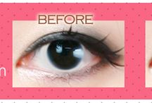 Natural contact lenses for brown eyes