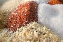 Spice mixes, sauces, and dressings
