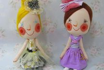 Dolls and Fabric Toy