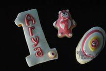 1 Yaş ve Rakkamlar-İşaretler / Pasta-Kurabiye-Cupcake