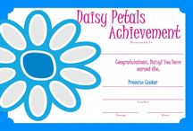 Girl Scout - Daisy Certificates