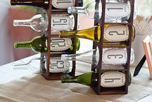 Wine Bottle Projects / by Paige Gapinski