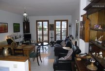 Owl's House / A Writer's flat, full of modern art, books, and antique furniture in the fishing quarter of Santa Catalina in the heart of Port de Soller, in Mallorca