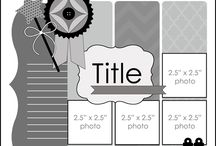 Scrapping / Scrapbooking pictures, layouts etc.