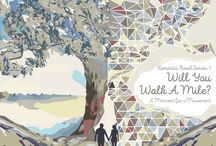 Will You Walk A Mile? / A Metaphysical Fiction, Romantic Road Series-1, A Tale of Two Generation